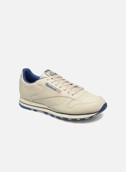 Baskets Reebok Classic Leather Beige vue détail/paire