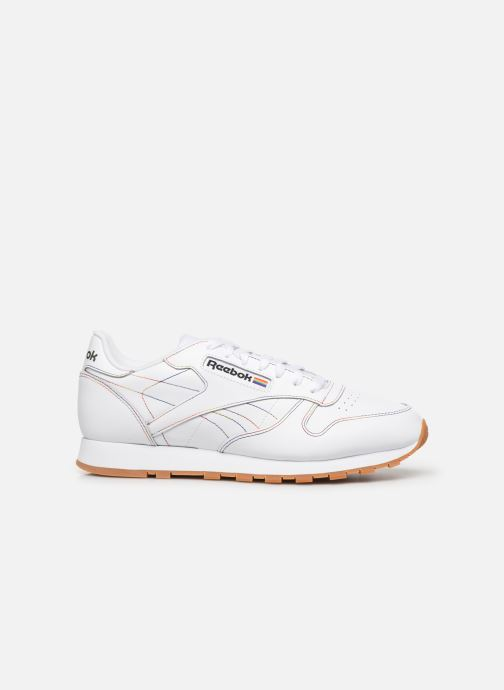 Baskets Reebok Classic Leather Blanc vue derrière