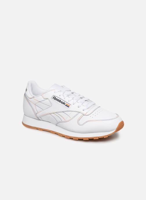 Baskets Reebok Classic Leather Blanc vue détail/paire