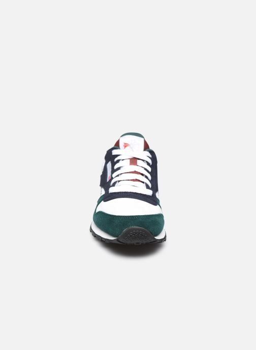 Baskets Reebok Classic Leather Blanc vue portées chaussures