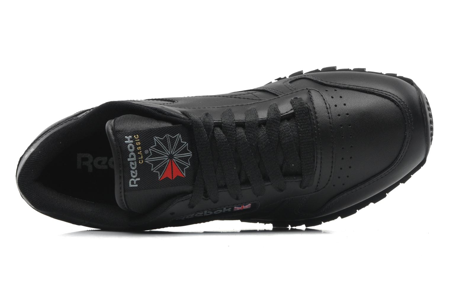 Baskets Reebok Classic Leather Noir vue gauche