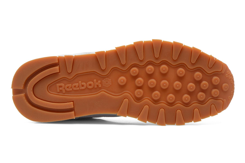 Sneaker Reebok Classic Leather weiß ansicht von oben