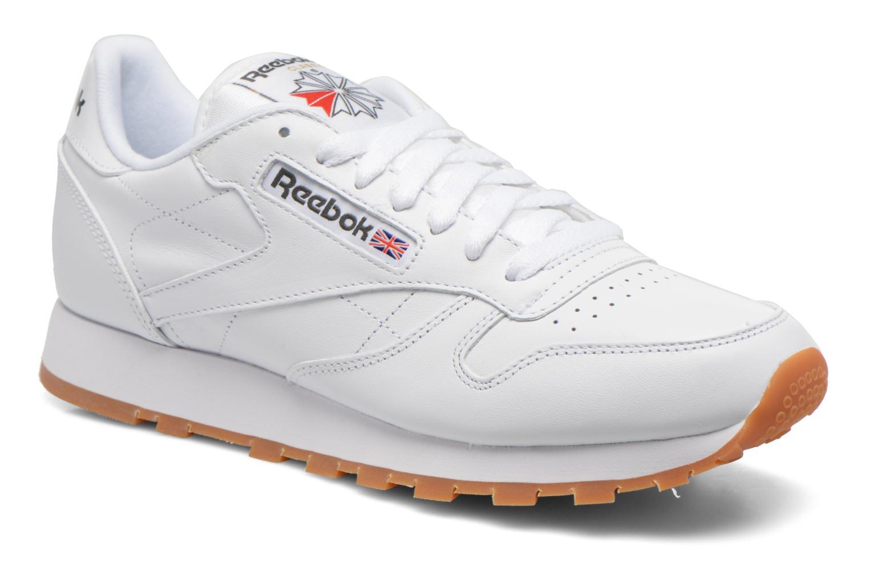 Sneaker Reebok Classic Leather weiß detaillierte ansicht/modell