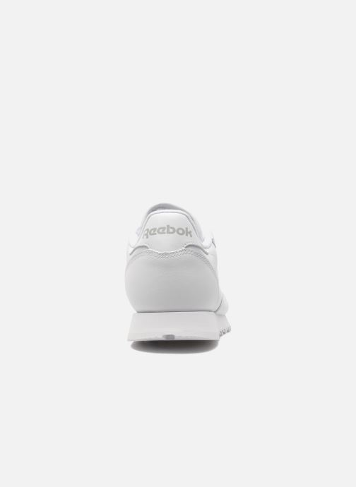 Sneakers Reebok Classic Leather W Wit rechts