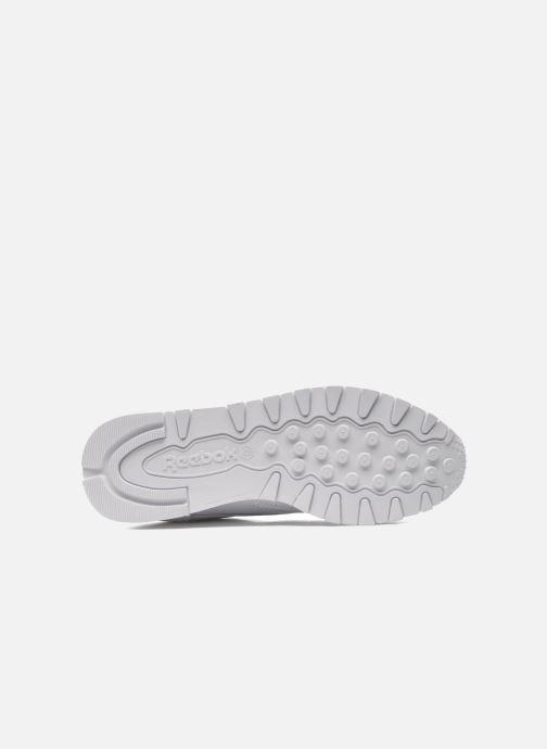 Baskets Reebok Classic Leather W Blanc vue haut