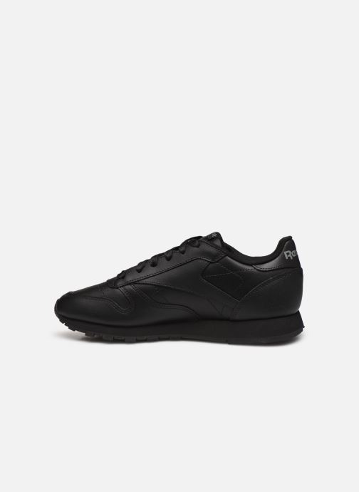 Trainers Reebok Classic Leather W Black front view