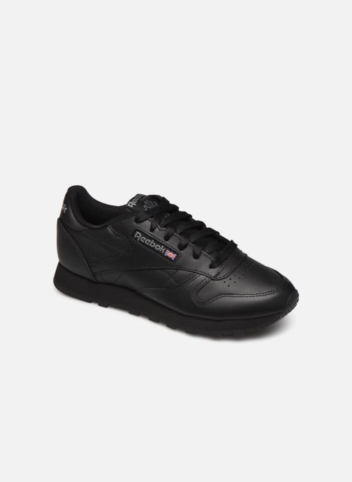 Trainers Reebok Classic Leather W Black detailed view/ Pair view