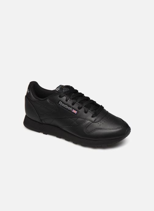 Baskets Reebok Classic Leather W Noir vue détail/paire