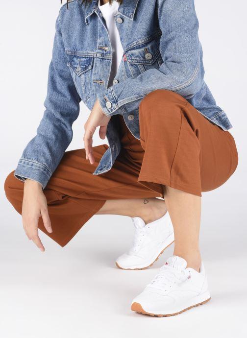 Sneakers Reebok Classic Leather W Bianco immagine dal basso