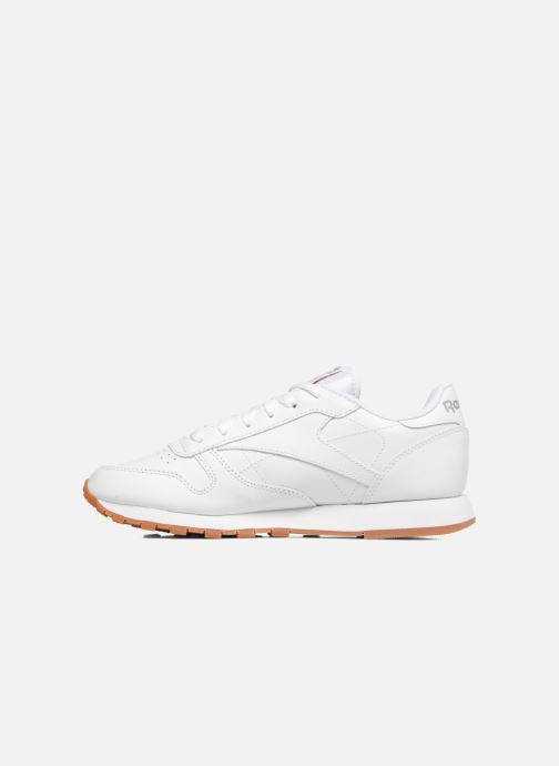Deportivas Reebok Classic Leather W Blanco vista de frente