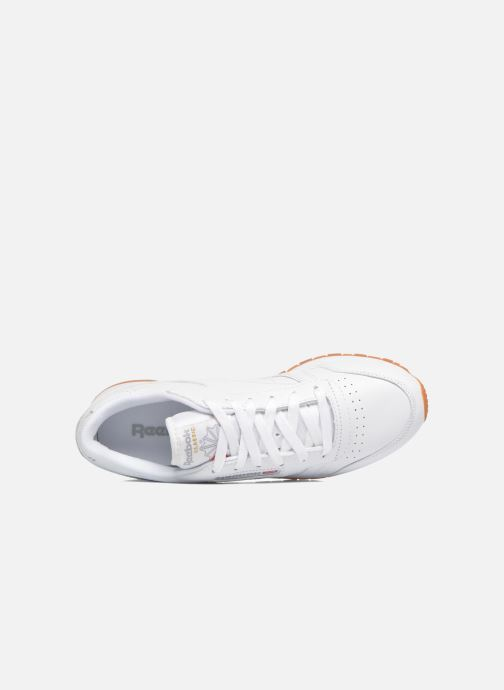 Baskets Reebok Classic Leather W Blanc vue gauche