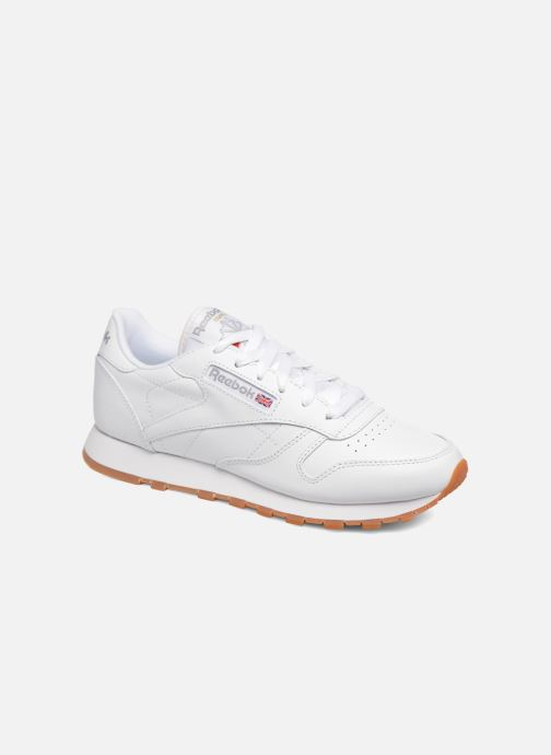 7741597ea6eca Reebok Classic Leather W (Blanc) - Baskets chez Sarenza (290265)