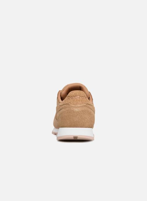 Sneakers Reebok Classic Leather W Marrone immagine destra