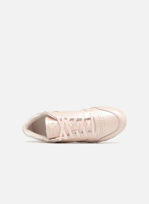 Sneaker Reebok Classic Leather W rosa ansicht von links