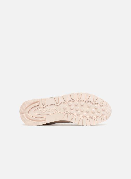 Sneakers Reebok Classic Leather W Rosa immagine dall'alto