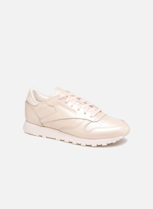 Sneakers Reebok Classic Leather W Pink detaljeret billede af skoene