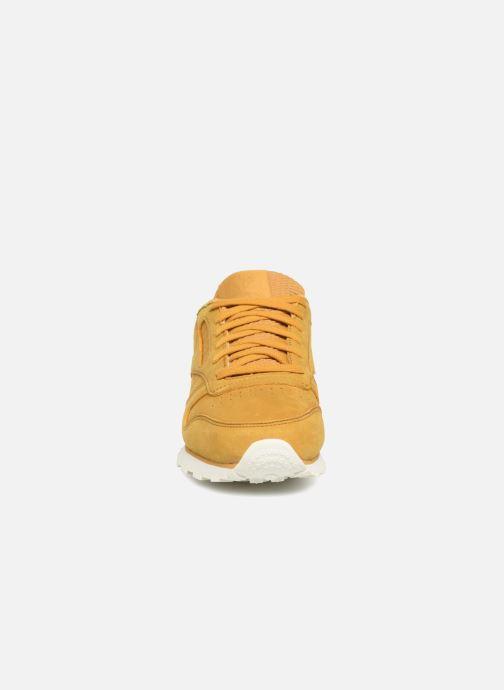 Baskets Reebok Classic Leather W Marron vue portées chaussures