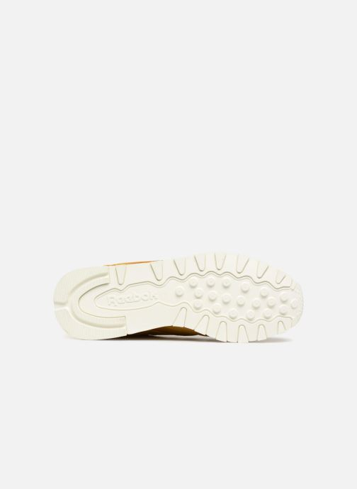 Sneakers Reebok Classic Leather W Marrone immagine dall'alto