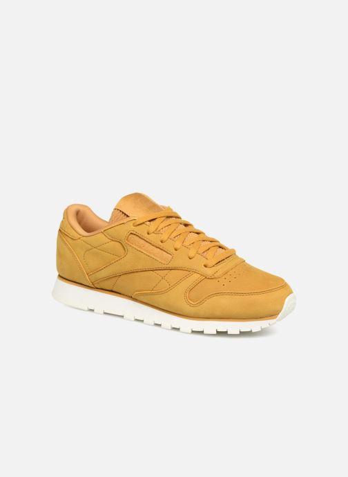 Sneaker Reebok Classic Leather W braun detaillierte ansicht/modell