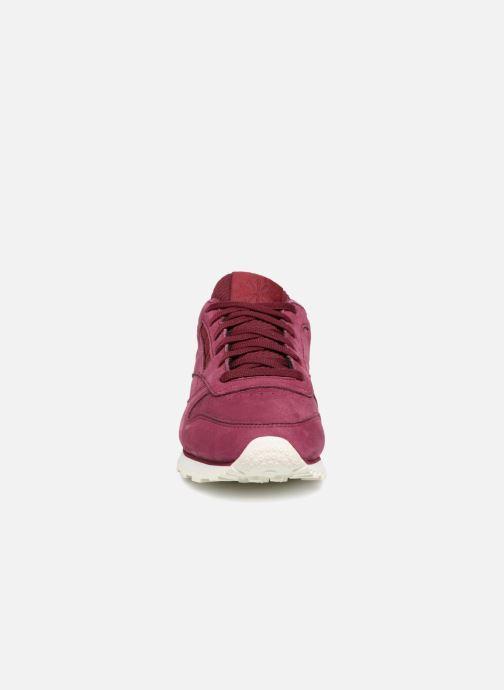Sneaker Reebok Classic Leather W rot schuhe getragen