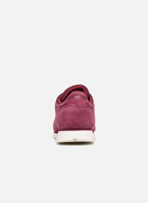 Sneaker Reebok Classic Leather W rot ansicht von rechts