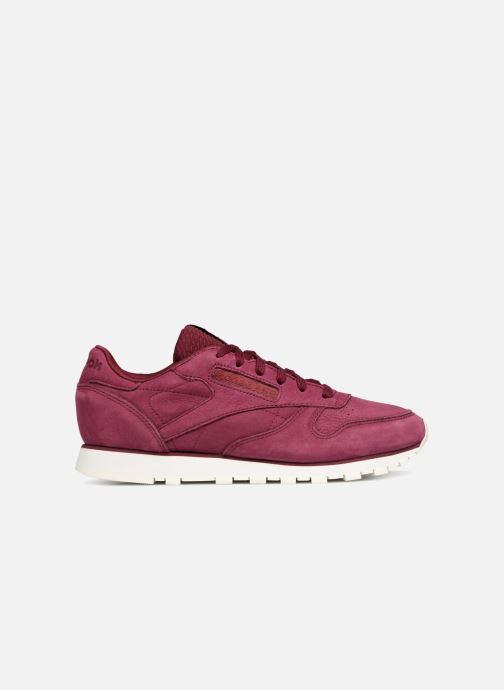 Sneaker Reebok Classic Leather W rot ansicht von hinten