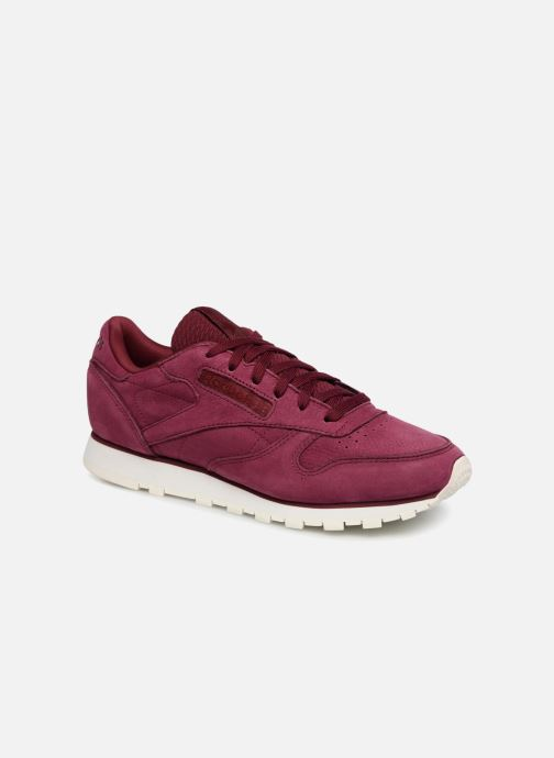 Trainers Reebok Classic Leather W Red detailed view/ Pair view