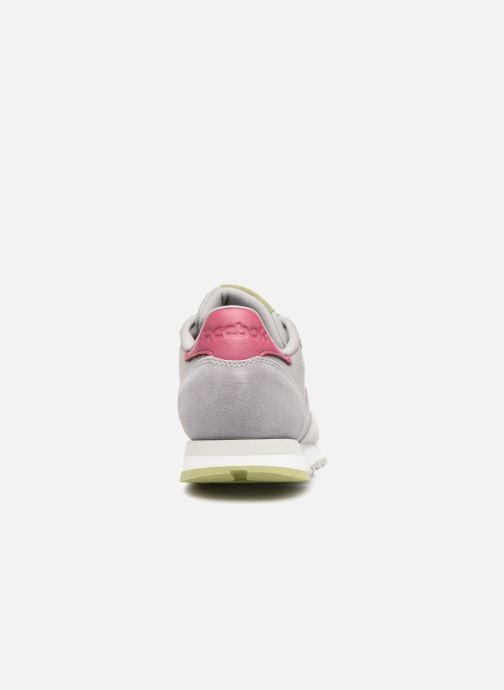 Sneakers Reebok Classic Leather W Grigio immagine destra