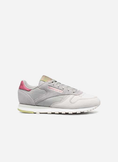 Baskets Reebok Classic Leather W Gris vue derrière