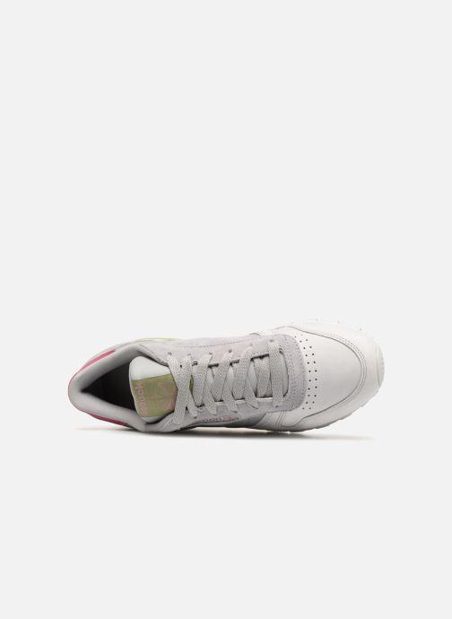 Sneakers Reebok Classic Leather W Grigio immagine sinistra