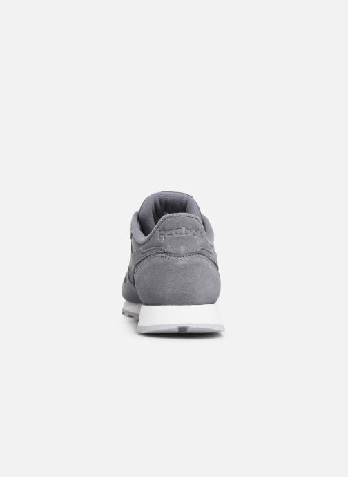 Sneaker Reebok Classic Leather W grau ansicht von rechts