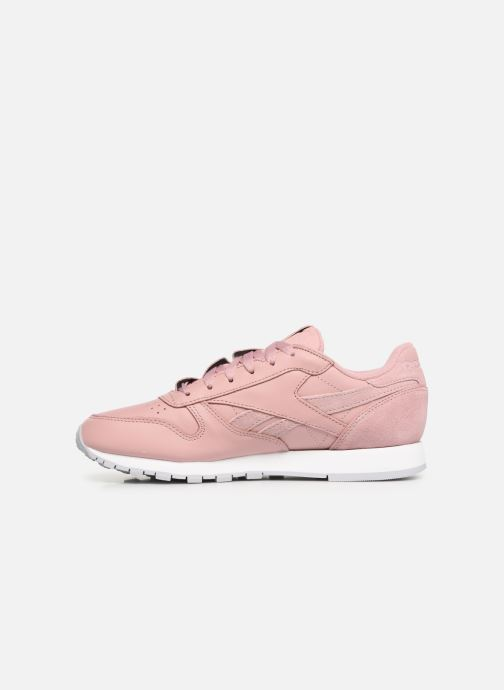 Sneakers Reebok Classic Leather W Roze voorkant