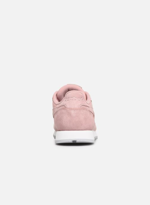 Sneakers Reebok Classic Leather W Roze rechts