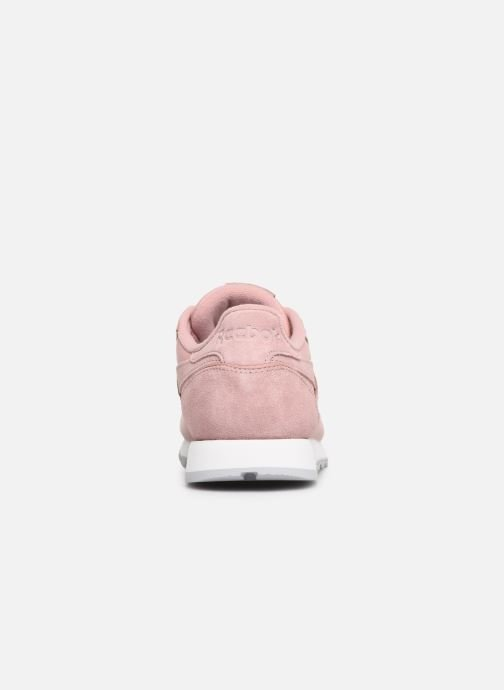 Sneakers Reebok Classic Leather W Rosa immagine destra