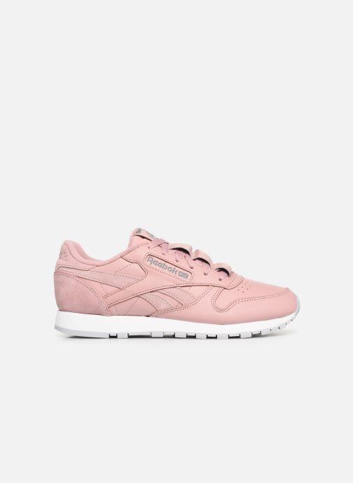 Sneakers Reebok Classic Leather W Roze achterkant