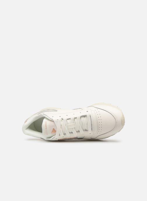 Baskets Reebok Classic Leather W Blanc vue gauche