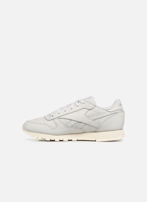 Sneaker Reebok Classic Leather W grau ansicht von vorne
