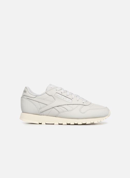 Sneaker Reebok Classic Leather W grau ansicht von hinten
