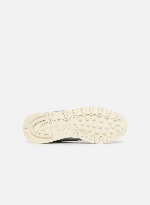 Sneaker Reebok Classic Leather W grau ansicht von oben