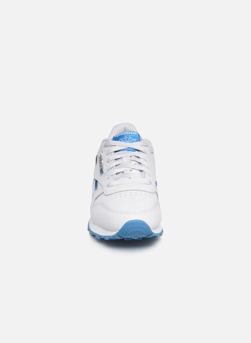 Baskets Reebok Classic Leather W Blanc vue portées chaussures