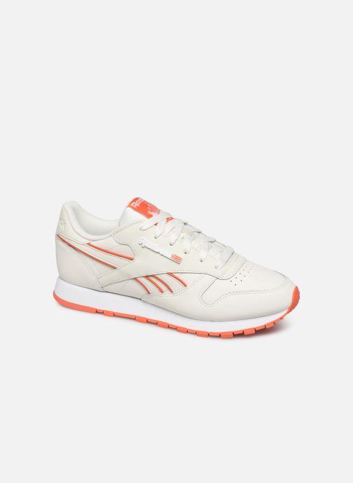 Reebok Classic Leather W (Wit) Sneakers chez Sarenza (393738)