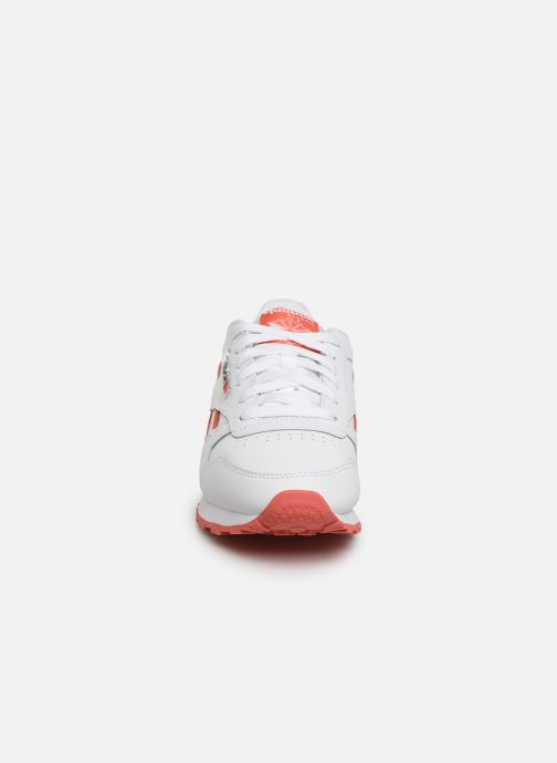 Sneaker Reebok Classic Leather W weiß schuhe getragen