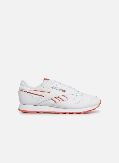 Sneakers Reebok Classic Leather W Wit achterkant