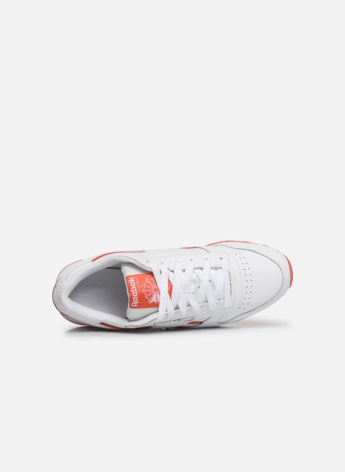 Sneakers Reebok Classic Leather W Bianco immagine sinistra