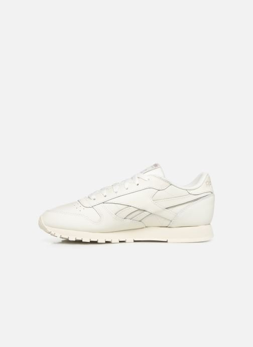 Sneakers Reebok Classic Leather W Bianco immagine frontale