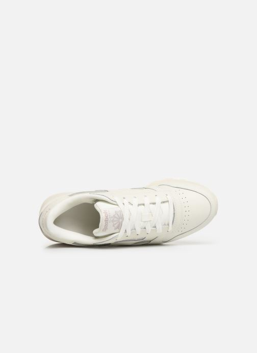 Sneakers Reebok Classic Leather W Bianco immagine sinistra