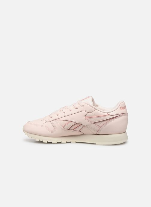 Baskets Reebok Classic Leather W Rose vue face