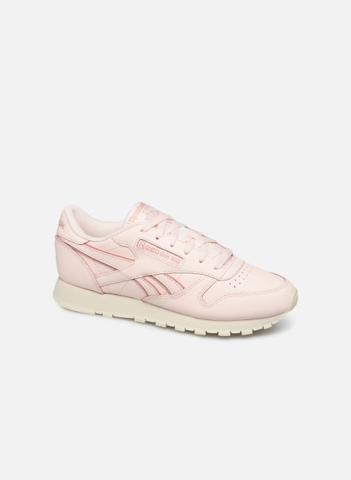 Baskets Reebok Classic Leather W Rose vue détail/paire