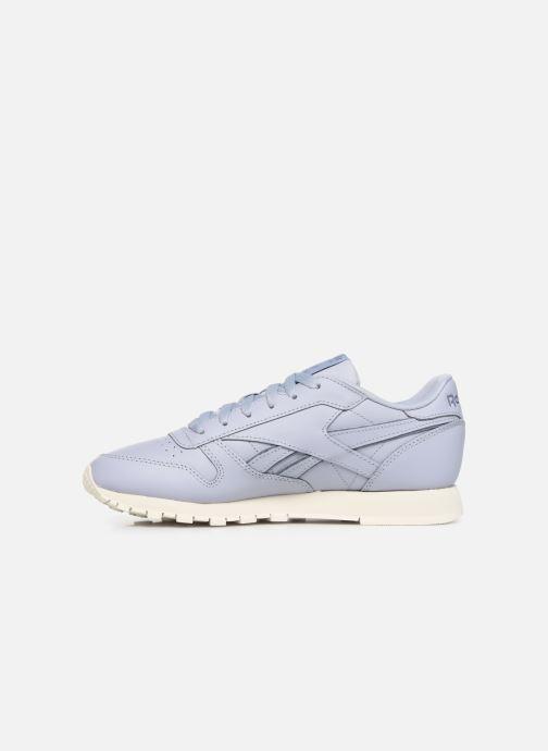 Sneakers Reebok Classic Leather W Paars voorkant