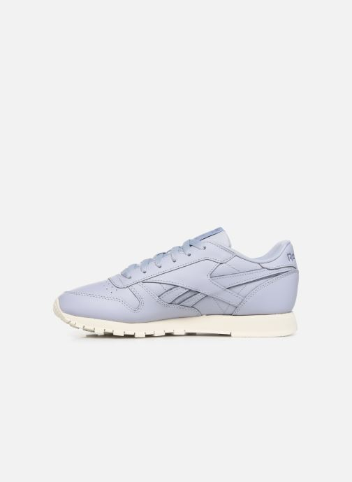 Baskets Reebok Classic Leather W Violet vue face